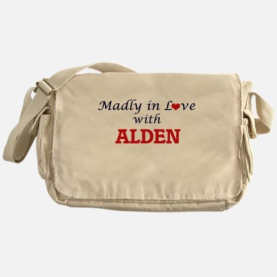 Madly in love with Alden Messenger Bag