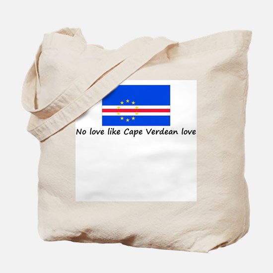 No love like Cape Verdean lov Tote Bag