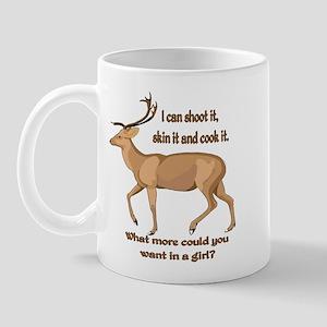 girl hunter Mug