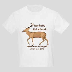 girl hunter Kids Light T-Shirt