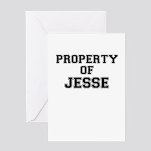 Property of JESSE Greeting Cards