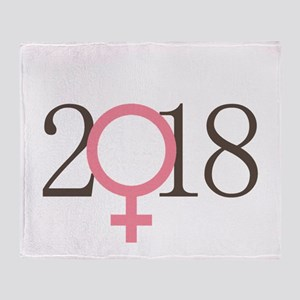 Me Too 2018 Throw Blanket