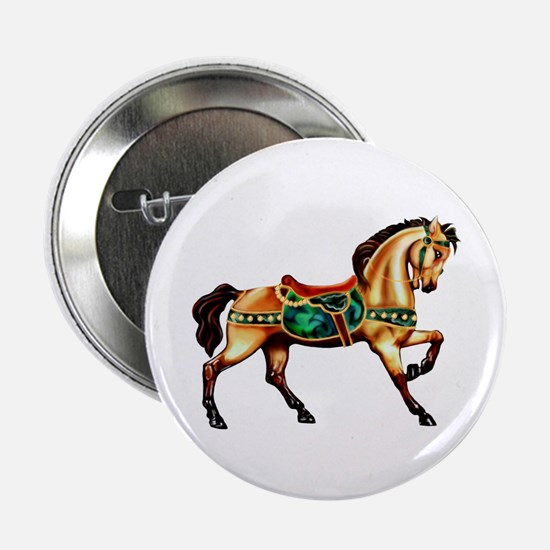 "Malachite Carousel 2.25"" Button (10 pack)"