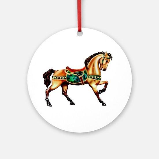 Malachite Carousel Keepsake (Round)