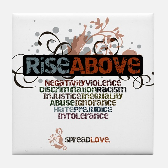 Rise Above Tile Coaster