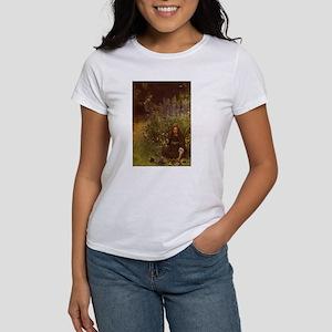 Gathering Pansies Women's T-Shirt