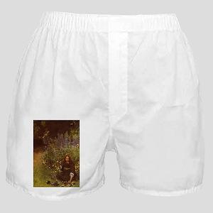 Gathering Pansies Boxer Shorts