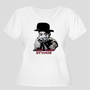 little rascals Women's Plus Size Scoop Neck T-Shir