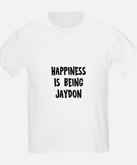 Happiness is being Jaydon T-Shirt