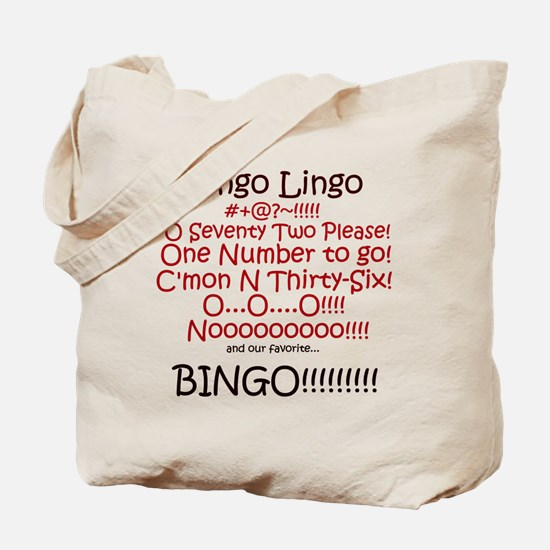 Bingo Lingo Tote Bag