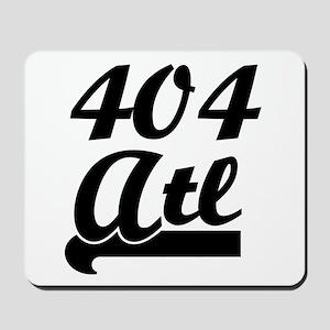404 Atlanta ATL 2 Mousepad