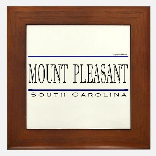 Cute Mount pleasant Framed Tile