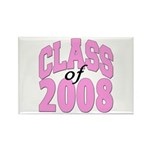 Class of 2008 ver2 Rectangle Magnet (100 pack)