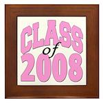 Class of 2008 ver2 Framed Tile