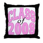 Class of 2008 ver2  Throw Pillow