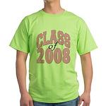 Class of 2008 ver2 Green T-Shirt