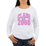 Class of 2008 ver2 Women's Long Sleeve T-Shirt