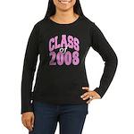 Class of 2008 ver2 Women's Long Sleeve Dark T-Shi