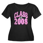 Class of 2008 ver2 Women's Plus Size Scoop Neck D