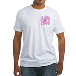 Class of 2008 ver2 Fitted T-Shirt
