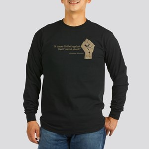 House Divided Long Sleeve Dark T-Shirt