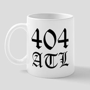 404 Atlanta ATL 4 Mug