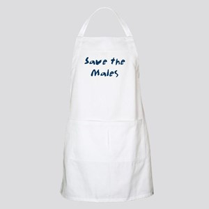 Save the Males BBQ Apron