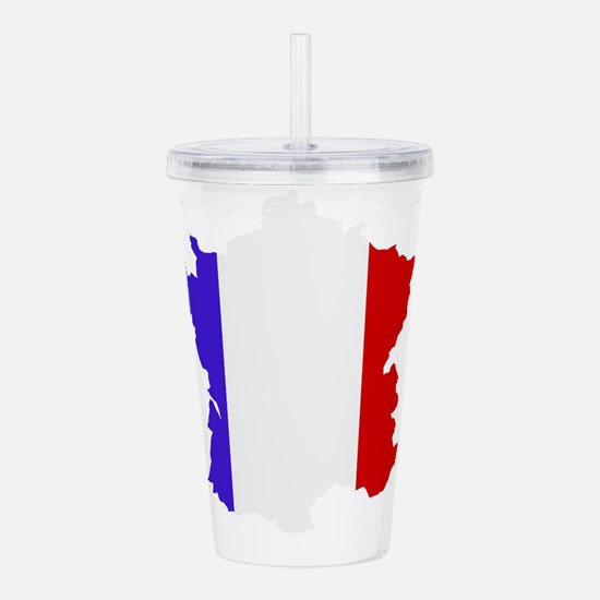 France map Acrylic Double-wall Tumbler