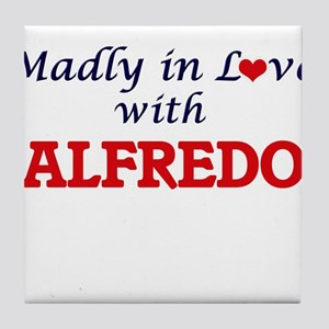 Madly in love with Alfredo Tile Coaster