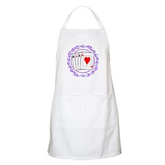 Flaming Aces BBQ Apron