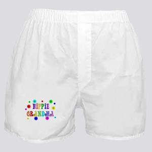 Hippie Grandma Boxer Shorts