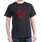 Religion is regarded by the c Dark T-Shirt