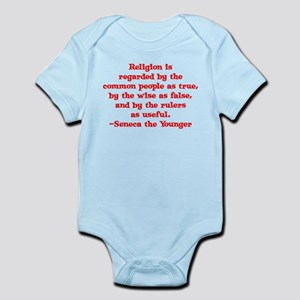 Religion is regarded by the c Infant Bodysuit