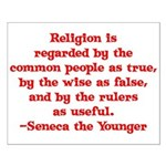Religion is regarded by the c Small Poster