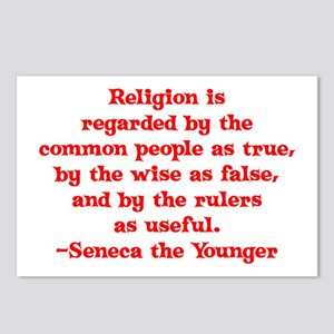 Religion is regarded by the c Postcards (Package o