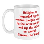 Religion is regarded by the c Mug