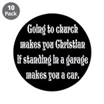 Going to church makes you Chr 3.5
