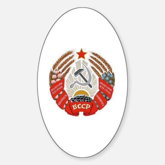 Funny Ssr Sticker (Oval)