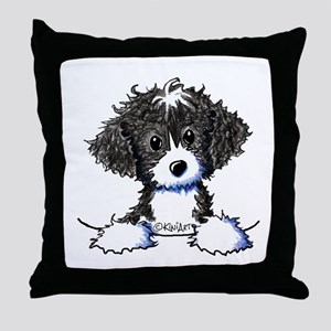 Cockapoo (Spoodle) Throw Pillow
