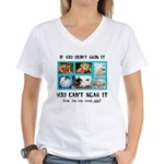 If You Didn't Grow It Women's V-Neck T-Shirt