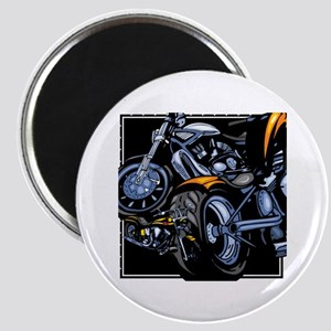 Motorcycle Collage Magnet