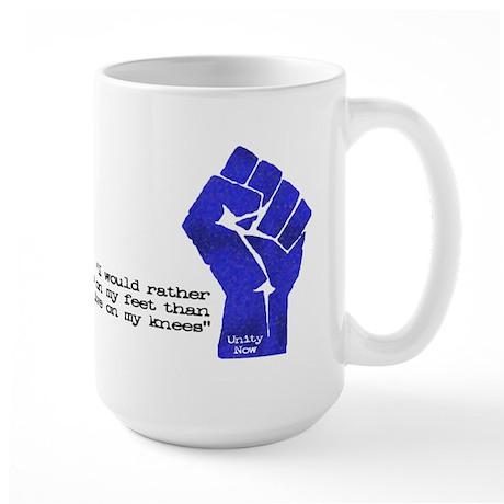 Freedom Now Large Mug