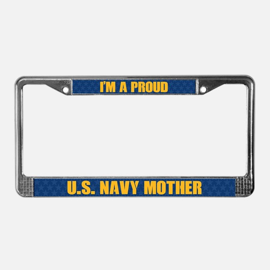 U.s. Navy Mother License Plate Frame