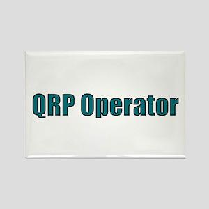 QRP Operator Rectangle Magnet