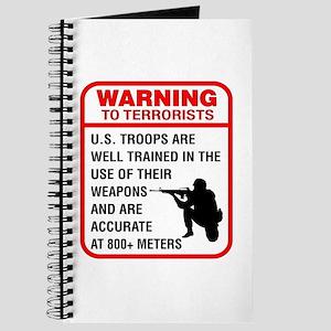 Warning To Terrorists Journal