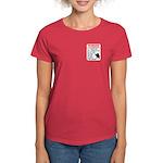 Warning To Terrorists Women's Dark T-Shirt