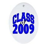 Class of 2009 Oval Ornament