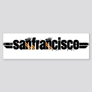 SF FLYER Bumper Sticker