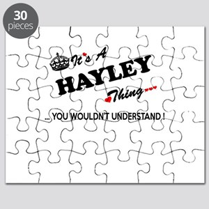 HAYLEY thing, you wouldn't understand Puzzle