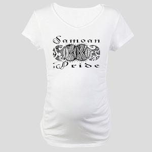 Samoan Pride  Maternity T-Shirt